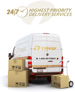 TIMAX delivery vehicle